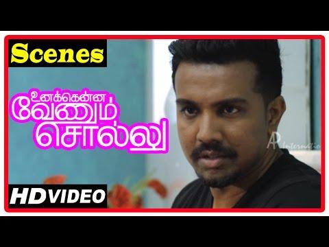 Unakkenna Venum Sollu Tamil Movie | Scenes | Jaqlene Prakash Deny To Travel To Chennai