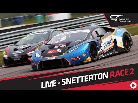 RACE 2 - BRITISH GT - SNETTERTON - LIVE