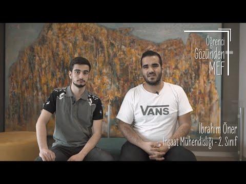 Öğrenci Gözünden MEF Üniversitesi / İbrahim Öner, Burak Çalışkan - İnşaat Mühendisliği