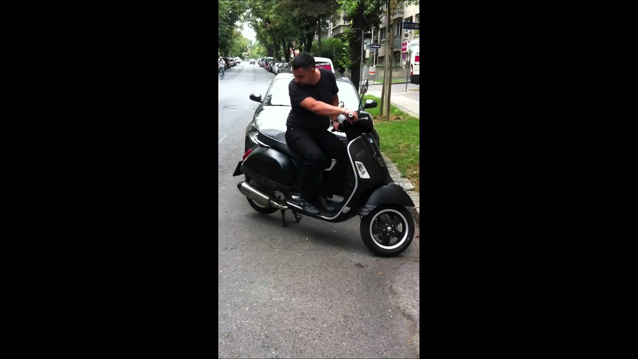 vespa gts i e 125 super sport youtube. Black Bedroom Furniture Sets. Home Design Ideas