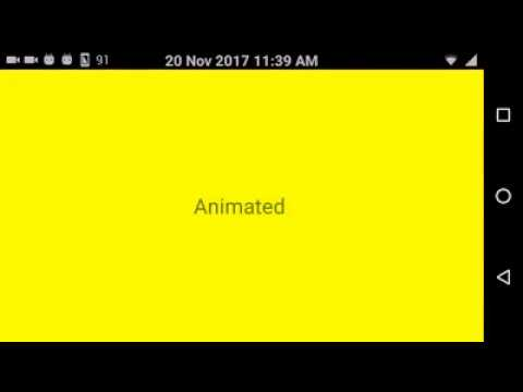 [Demo] change Background Color using Animation || React native animation Tutorials for beginners