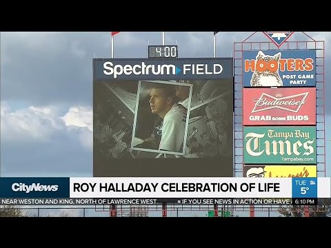 Roy Halladay remembered in emotional celebration of life ceremony