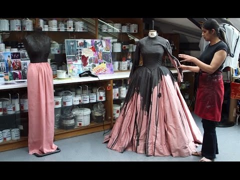 Creating Donna Anna's Dress for Don Giovanni (The Royal Opera)
