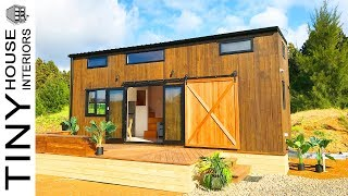 Absolutely Stunning Pohutukawa Tiny House New Zealand Builders' Show Home | Tiny House Interiors