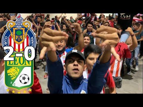 BARRA de CHIVAS le canta al AMARGO previo CLÁSICO TAPATÍO | CHIVAS vs LEÓN 2-0