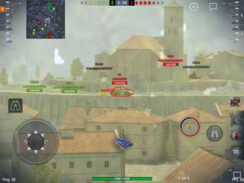World of Tanks Blitz - T49 in artillery mode