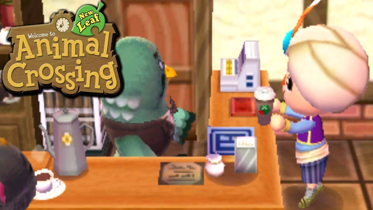 Animal crossing new leaf coffee to go nintendo 3ds for Agrandissement maison animal crossing new leaf