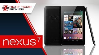 Nexus 7 Tablet from Google by ASUS Review - NTR