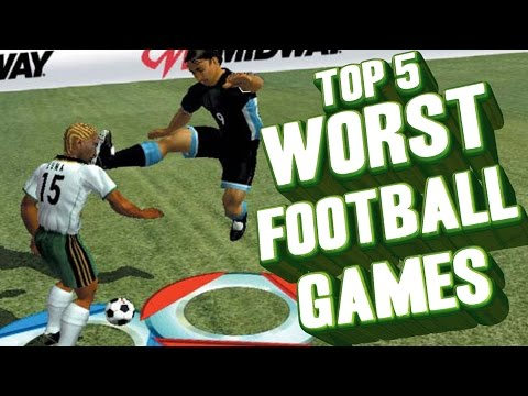 Top 5  Worst Football Games