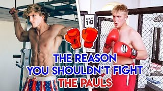 THE REASON WHY YOU SHOULDNT FIGHT THE PAUL'S  (Jake & Logan)