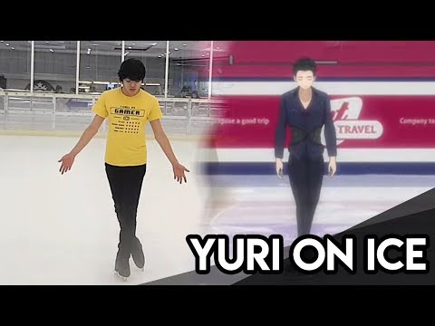 Yuri!!! On Ice - Yuri On Ice Live Practice Video