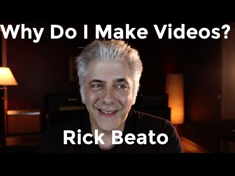 The Story of My Musical Background - Rick Beato Everything Music