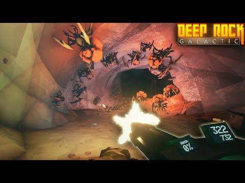 Massive Attack!  BUGS EVERYWHERE!  (Deep Rock Galactic Beta Gameplay Part 2)