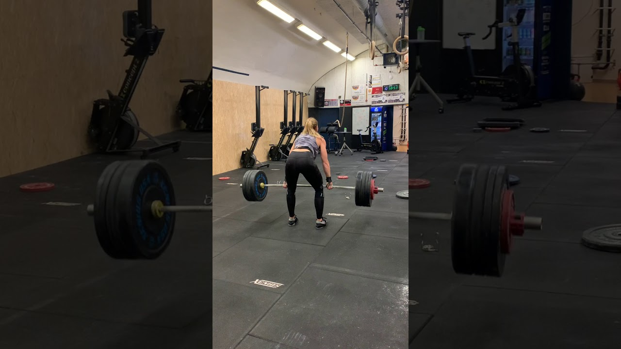 Clean: 100 x 1 rep by Lydia Burke