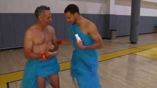 rick reilly and stephen curry join forces to fight malaria