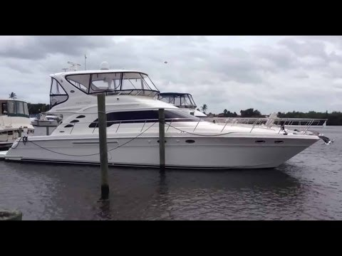 2004 Sea Ray 56 Sedan Bridge Walkthrough For Sale at MarineMax Stuart