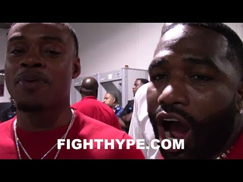 ADRIEN BRONER AND ERROL SPENCE JR. REACT TO JERMELL CHARLO'S 1ST ROUND KNOCKOUT OF ERICKSON LUBIN