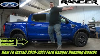 2019-2021 Ford Ranger Facтory Ford Running Boards- How To Install