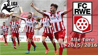 ALLE TORE | FC Rot-Weiß Erfurt | Saison 2015/2016