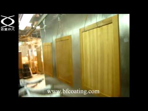 BFcoating-wooden panel reciprocating air gun auto spray