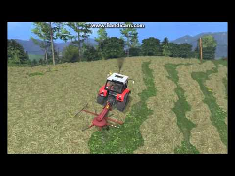 Fs 15/mowing grass in Slovenia