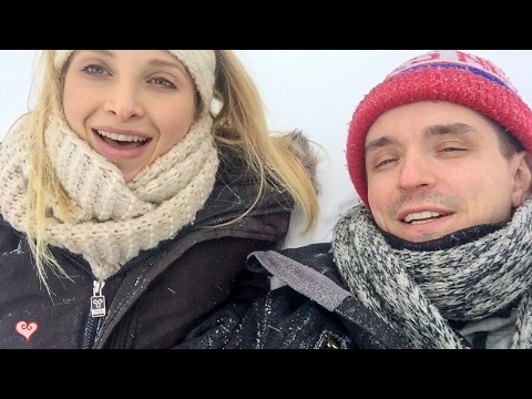 Help! We Are Headed To Indonesia!?! ♥ Blogging On A Frozen Lake Louise -30C