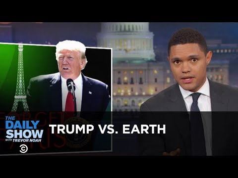 Thumbnail: Trump Tells Earth to Go F**k Itself: The Daily Show
