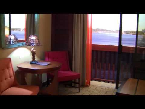 Disney's Polynesian Villas DVC Deluxe Studio Room Tour at Walt Disney World Resort