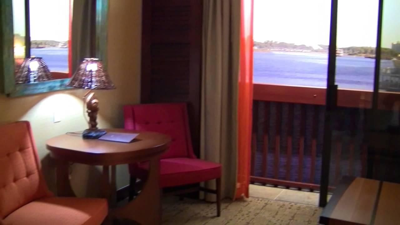 Disney S Polynesian Villas Dvc Deluxe Studio Room Tour At