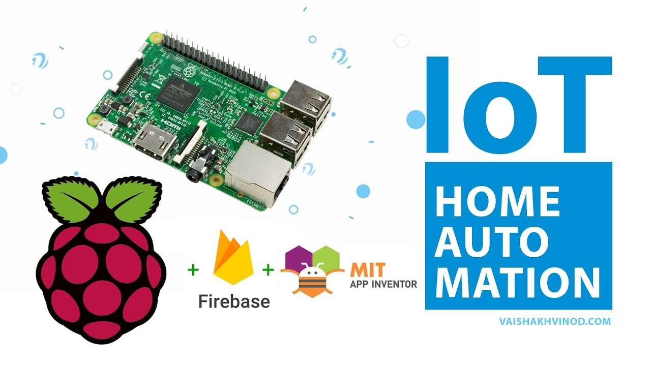 IoT Home Automation Using Raspberry pi, Firebase and MIT App Inventor