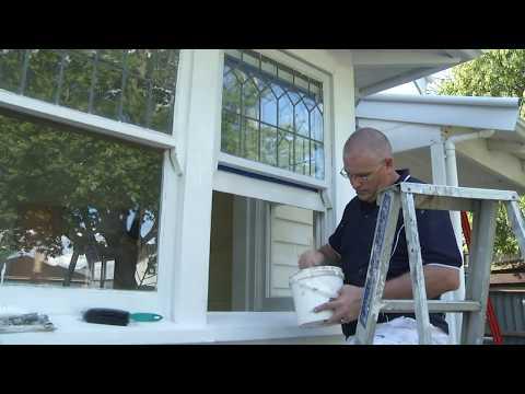 How to Paint Exterior Trims & Windows