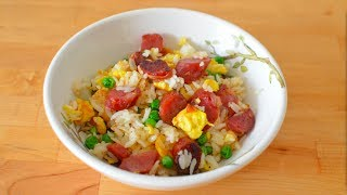 Sausage Fried Rice - Simple Recipe with Huge Flavor