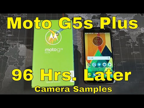 Moto G5s Plus - 96 Hours Later - There's a lot to like about this one!