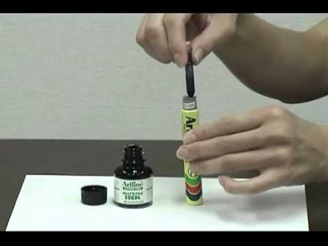 How to Refill Artline Ink for Permanent Markers?