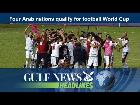 Four Arab nations qualify for football World Cup - GN Headlines