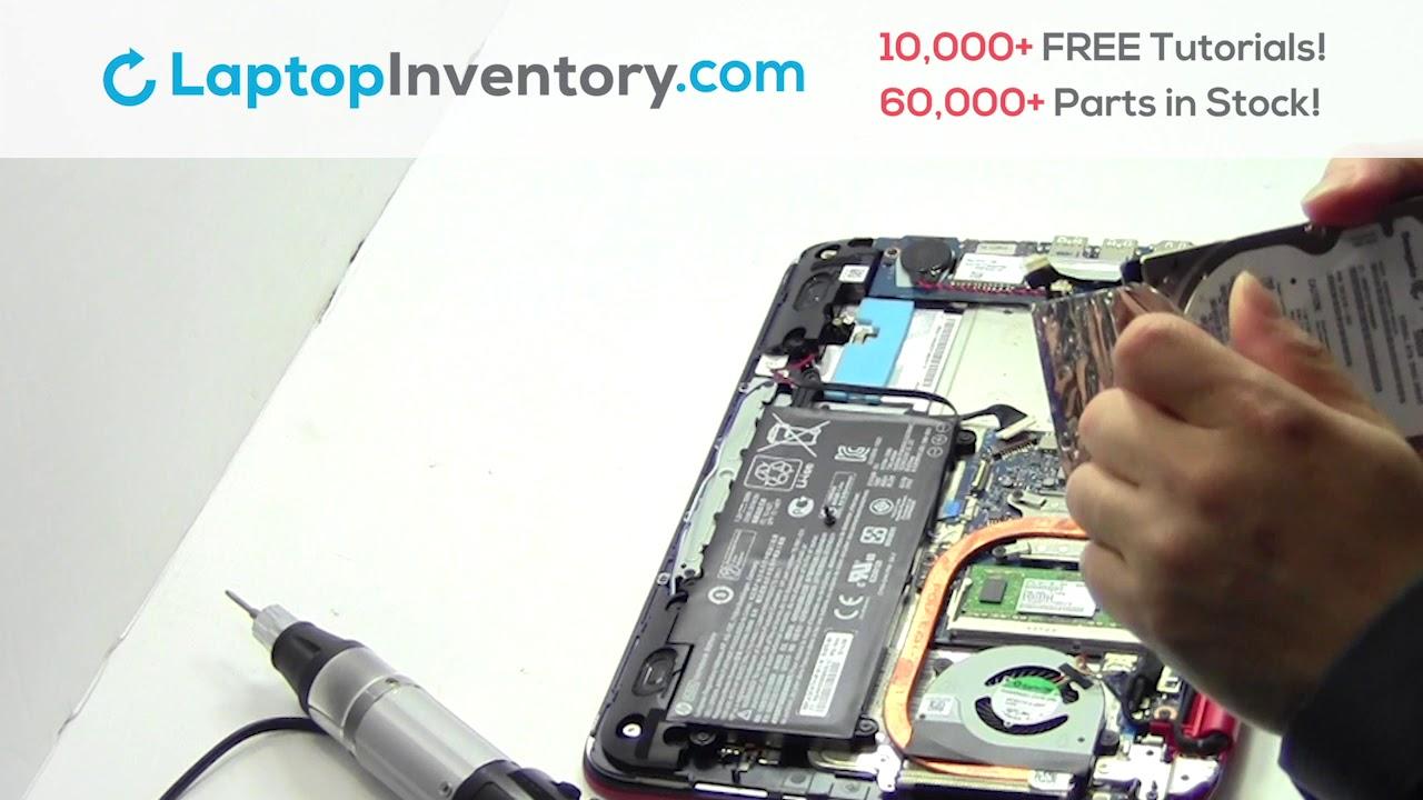 Hard Drive Replacement HP Pavilion X360 11-N  Fix, Install, Repair HDD  PK131502A00 755896 756116