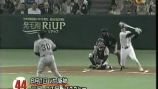2003 二岡 本塁打集 [HD]