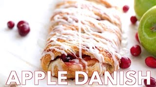 Dessert: Apple Braided Danish