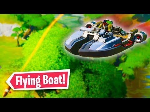 How to get *Flying Boats* in Fortnite Chapter 2! (fortnite glitches)