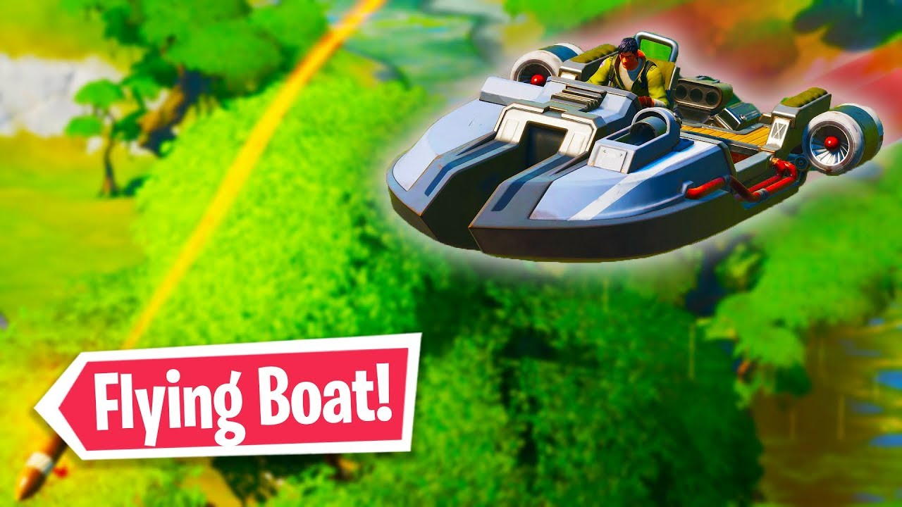 Make The Most Of Fortnite S Boats The Only Vehicle In The
