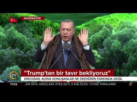 Cumhurbaşkanı Erdoğan'dan ABD'ye Münbiç mesajı