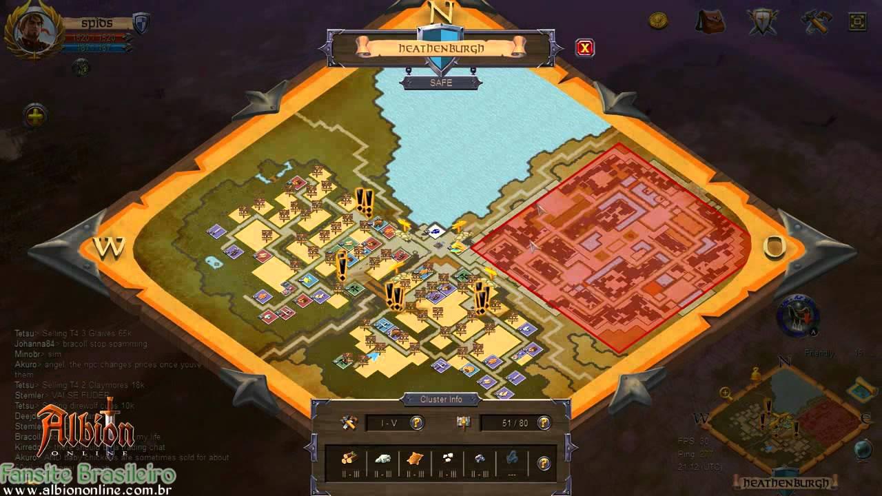 mapa online Albion Online: Evoluindo #3 (Ferramentas T3 + Mapa da guild)   YouTube mapa online