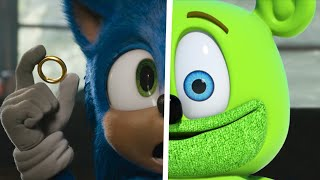 Sonic The Hedgehog Movie Choose Your Favorite Desgin For Both Characters (Gummy Bear Vs Sonic)