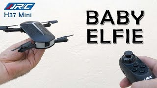 Baby Elfie - The Smallest Pocket Drone   JJRC H37 Mini  Unboxing review Camera Flight tutorial