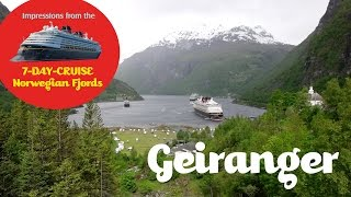 4 - In Geiranger with the Disney Cruise Line