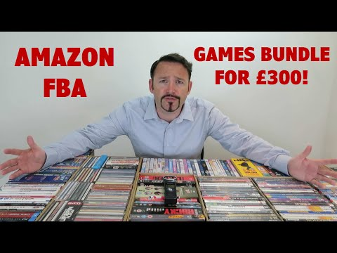 Amazon FBA Console Games Bundle For £300!!  | Wholesale Buyers Club