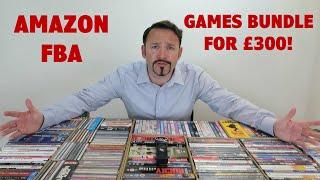 Amazon FBA Console Games Bundle For £300!!  | Wholesale Buyers Club