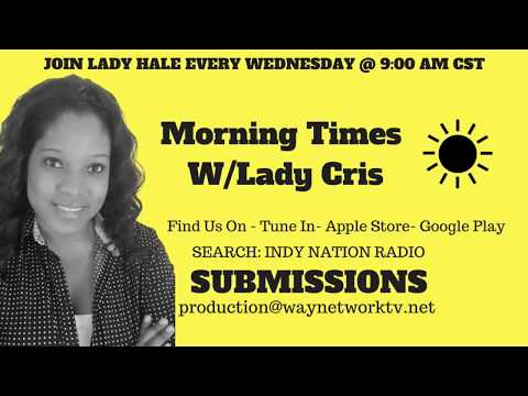 Morning Time With Cris Radio show live Guest- SW Washington and FAvor