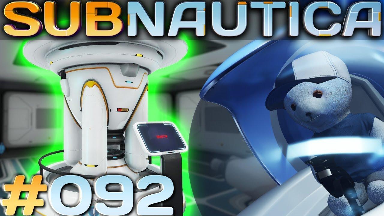 Subnautica 92 Kernreaktor Subnautica Deutsch German Gameplay Youtube