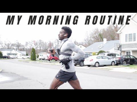 my morning routine   morning run   what I eat